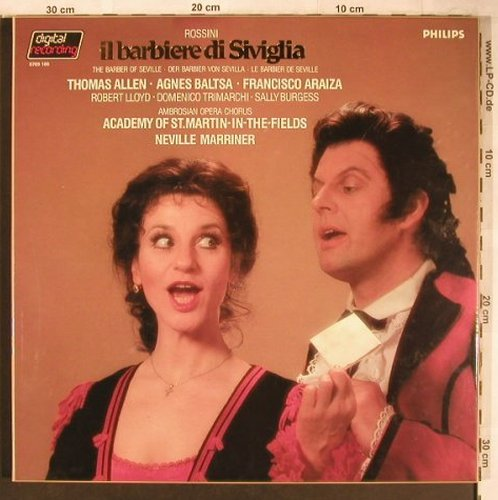 Rossini,Gioacchino: IL Barbiere di Siviglia, Box, Philips(6769 100), NL, 1983 - 3LP - L8239 - 15,00 Euro