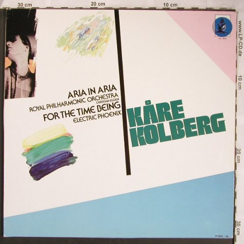 Kolberg,Kare: Aria in Aria,For the Time being,Foc, Norwegian Composers(NC 4916), D, 1987 - LP - L8242 - 25,00 Euro