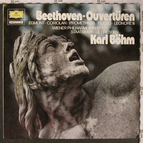Beethoven,Ludwig van: Ouvertüren(69), D.Gr. Resonance(2535 135), D, 1975 - LP - L8271 - 7,50 Euro