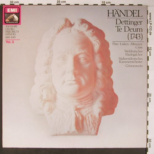 Händel,Georg Friedrich: Dettinger Te Deum (1743), EMI, Vol.3(12 8530 1), D,Ri, co, 1963 - LP - L8695 - 5,00 Euro