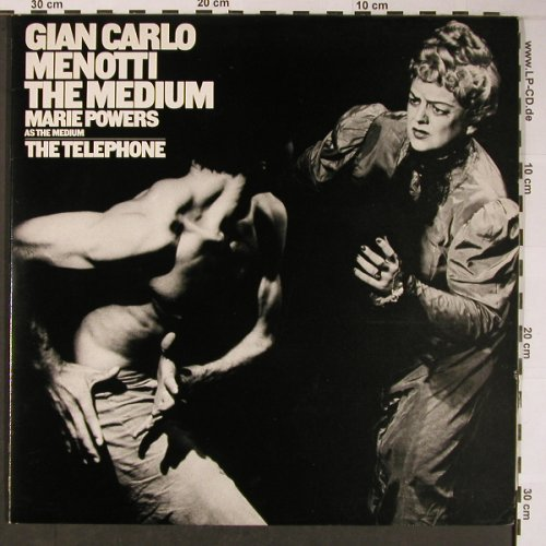 Menotti,Gian Carlo: The Medium / The Telephone, CBS(M2P 39532), UK, 1979 - 2LP - L8829 - 20,00 Euro