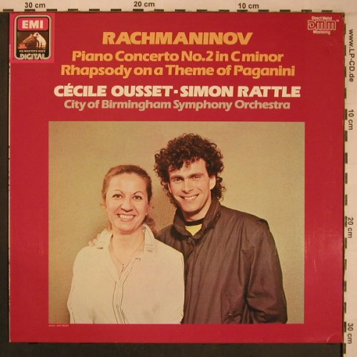 Rachmaninov,Sergei: Piano Concerto No.2 in c minor, EMI(27 0103 1), D, 1984 - LP - L9255 - 9,00 Euro