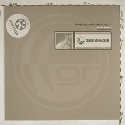 Lopez Project,Nino: Experience*3, Clubgroove(CGR 014-R), D, 2001 - 12inch - A8195 - 4,00 Euro