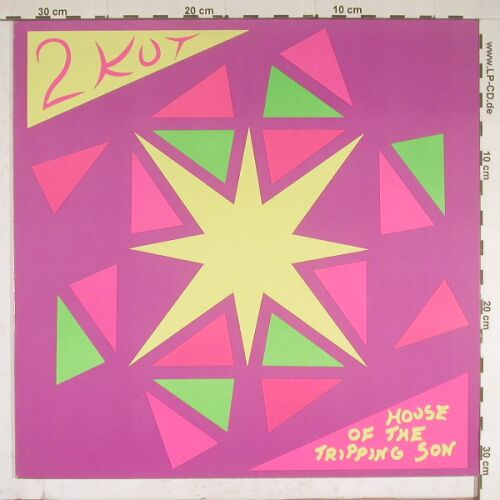 2 KUT: House Of The Tripping Son+1,TOT92, Virgin(611 959-213), D, 88 - 12inch - A8925 - 5,50 Euro