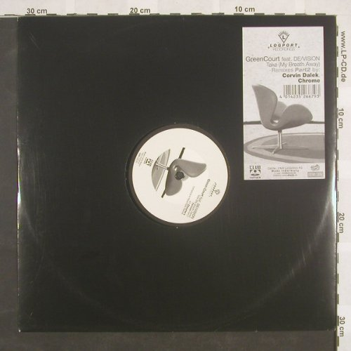 Green Court feat.De/Vision: Take(My Breath Away)*2, Logport(), D, 01 - 12inch - B8833 - 3,00 Euro