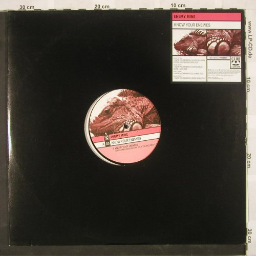"Enemy Mine: Know Your Enemy*4,LC, ClubCultur(), D, 01 - 2*12"" - B9192 - 4,00 Euro"