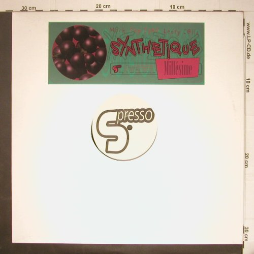 Synthetique: Mach/Pop Eyed/ Leary c@lls, Millesime(sp06), F, 1999 - 12inch - C5747 - 3,00 Euro