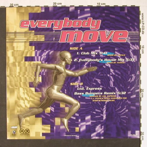 Odyssey: Everybody Move*3,Promo, Interc.(INT 193.109), D, 1995 - 12inch - C8961 - 2,50 Euro