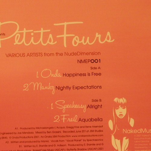 Petit Fours: Happiness is Free+3, FS-New, Naked Music(NMEP001), , 2004 - 12inch - F2173 - 7,50 Euro