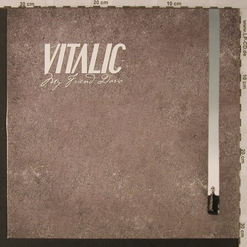 Vitalic: My Friend David, Different(451.1042.130), EU, 2005 - 12inch - F2178 - 4,00 Euro