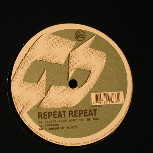 Congreave,Mark & Dave Rutherford: Repeat Repeat, Soma(183), UK, 2005 - 12inch - F2252 - 5,00 Euro
