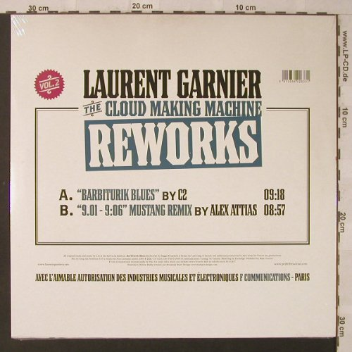Garnier,Laurent: The Cloud Making Machine Reworks, F Communications(F233), , FS-New, 2005 - 12inch - F2516 - 6,00 Euro