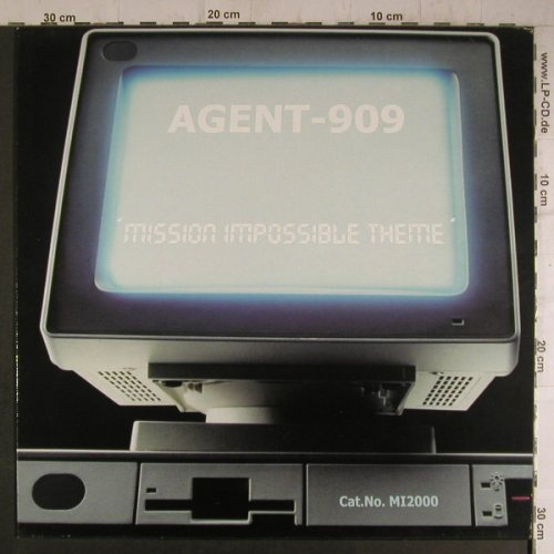 Agent-909: Mission  Impossible Theme, 2Tr., Music Mail(MI2000), D,  - 12inch - F6990 - 4,00 Euro