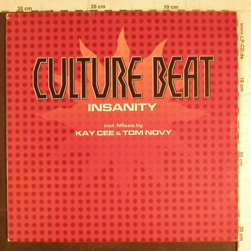 "Culture Beat: Insanity (mixes by KayCee/Tom Novy), Abfahrt Rec.(ABF2002), D,m-/vg+, 2001 - 12""*2 - F8794 - 4,00 Euro"