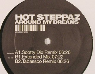 Hot Steppaz: Around my Dreams, 3Tr., Kontor(), , 2003 - 12inch - F8862 - 3,00 Euro