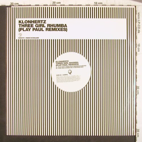 Klonhertz: Three Girl Rhumba,ClubMx/Dub, Southern Fried Rec.(ECB57P1), UK, LC, 2003 - 12inch - F8866 - 4,00 Euro