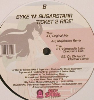 Syke'n'Sugarstar: Ticket To Ride*4, Casa Rosso(016), ,  - LP - F8933 - 3,00 Euro