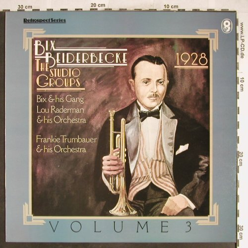 Beiderbecke,Bix: The Studio Groups 1928 Vol.3, EMI(SH 415), UK, 81 - LP - A1129 - 6,00 Euro