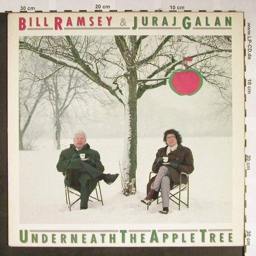 Ramsey,Bill & Juraj Galan: Underneath The Apple Tree, Berton(LP 9130), D, 84 - LP - B1586 - 6,50 Euro