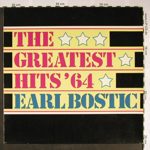 Bostic,Earl: The Greatest Hits'64, Bellaphon(BI 15160), D,  - LP - B1621 - 5,50 Euro