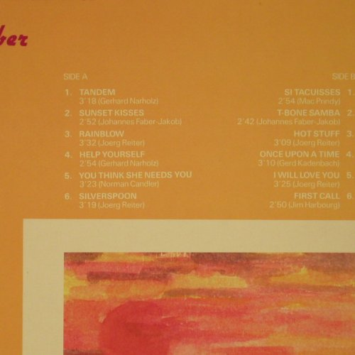 Reiter,Joerg & Band: Sunset Kisses, m-/vg+, Intersound(ISST 162), D,  - LP - B8251 - 4,00 Euro