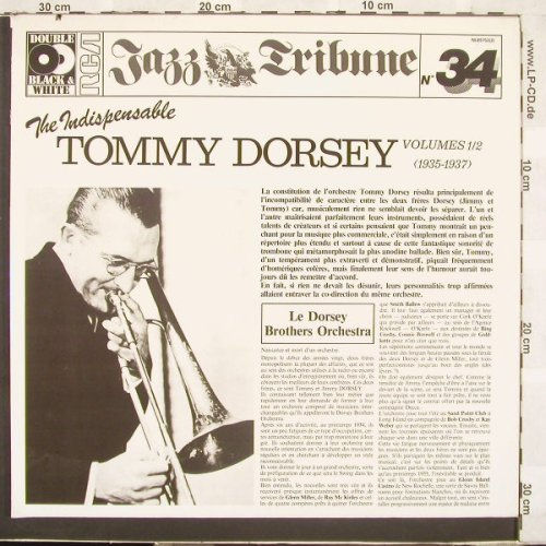 Dorsey,Tommy: The Indispensable Vol.1/2,Foc,Co, RCA(), D, 82 - 2LP - C1813 - 6,00 Euro