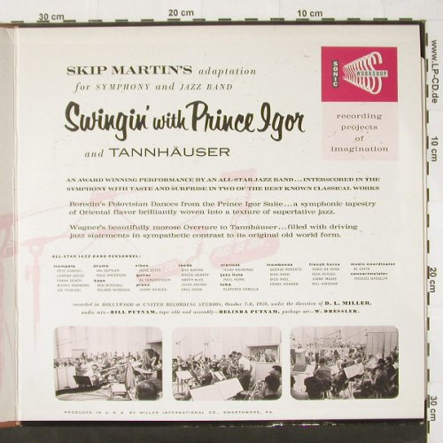 Prince Igor & t. Hollywood Symph...: Swingin' with ,Foc, Sonic(No.0200), US,vg+/vg+, 59 - LP - C2044 - 5,00 Euro