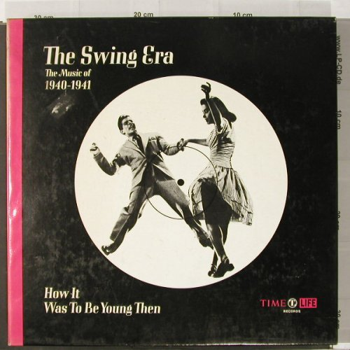 V.A.The Swing Era: Music Of 1940-41, Box +Book, Time Life(STL 345), US,m-/vg+,  - 3LP - C2102 - 12,50 Euro