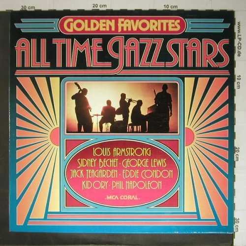 V.A.All Time Jazz Stars: Reihe Golden Favorites, MCA Coral(6.22569), D, 76 - LP - C5351 - 4,00 Euro