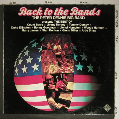 Dennis,Peter Big Band: Back To The Bands, wh.Muster, Telefunken(SLE 14 747-P), D, 74 - LP - C5358 - 6,00 Euro