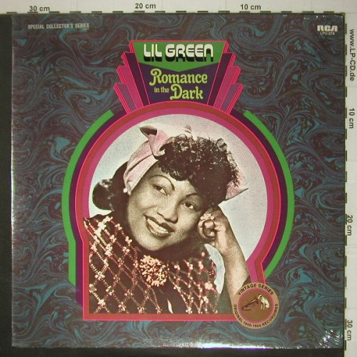 Green,Lil - original rec.1940-46: Romance in the Dark, FS-New, RCA(LPV-574), US,Promo, 1971 - LP - C5621 - 14,00 Euro