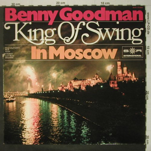 Goodman,Benny: King of Swing-In Moscow, vg+/vg+, RCA Victor(77643), D, DSC,  - LP - C6327 - 4,00 Euro