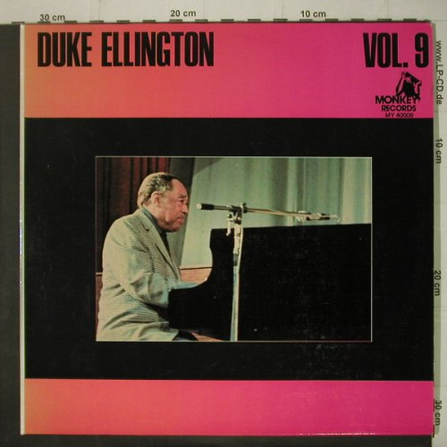 Ellington,Duke: Vol.9, Foc, Monkey Rec.(MY 40009), F,  - 2LP - C6719 - 7,50 Euro