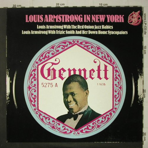 Armstrong,Louis: In New York, Jazz Story(40.007), D, 1976 - LP - C6725 - 5,00 Euro