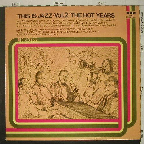 V.A.This Is Jazz Vol.2: The Hot Years, 16 Tr. - Mono, RCA(TNM1-7352), I, 1975 - LP - C6744 - 4,00 Euro