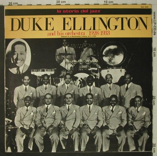 Ellington,Duke & his Orchestra: 1928-1933, Joker(SM 3081), I, 1971 - LP - C6886 - 5,00 Euro