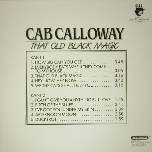 Calloway,Cab: That Old Black Magic, m-/vg+, Cleo(CL 004184), NL,  - LP - C6897 - 4,00 Euro