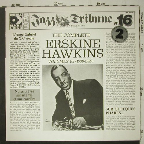 Hawkins,Erskine: The Complete, Foc,Jazz Tribune16, RCA(PM 43257), F, 1980 - 2LP - C6907 - 7,50 Euro