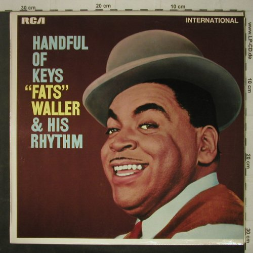 Waller,Fats & his Rhythm: Handful Of Keys, RCA International(INT 1050), UK - Mono, 1969 - LP - C7061 - 5,00 Euro