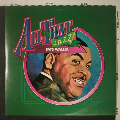 Waller,Fats: All That Jazz, Foc, Mono, DJM(DJD 28003), UK, 1975 - 2LP - C7192 - 7,50 Euro