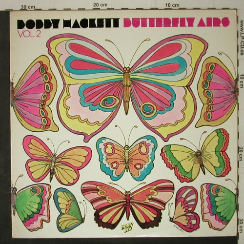 Hackett,Bobby: Butterfly Airs / Vol.2, Honey Dew(HD 6618), US, 1977 - LP - C7539 - 7,50 Euro