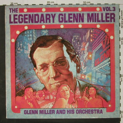 Miller,Glenn & His Orch: The Legendary Vol.3, promo stol, RCAorange(LFM 1-7502), D, Mono, 1974 - LP - C8301 - 5,00 Euro