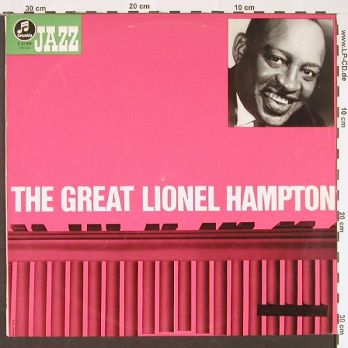 Hampton,Lionel: The Great, Anpressung, Columbia(83 405), D, 1963 - LP - C9047 - 20,00 Euro