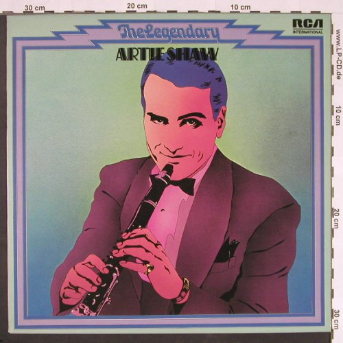 Shaw,Artie: Legendary, Warenprobe, RCA International(TJL 1-7004 INTS), D, 1974 - LP - C9715 - 6,00 Euro