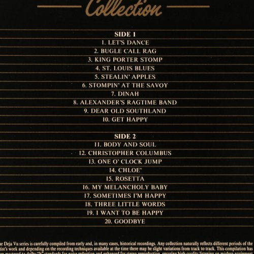 Goodman,Benny: 20 Golden Greats-The Collection, Deja Vu(DVLP 2011), I, 1984 - LP - E1015 - 4,00 Euro