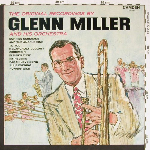 Miller,Glenn & His Orch.: The Original Recordings(Stereo), RCA Camden(CDS 1004), UK, Ri, 1969 - LP - E1064 - 5,00 Euro