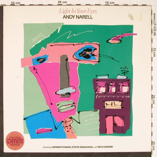 Narell,Andy: Light In Your Eyes, m-/vg+, Hip Pocket(TA-HP103), D, 1983 - LP - E1257 - 3,00 Euro