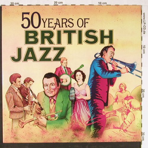 V.A.50 Years Of British Jazz: 28 Tr.,Foc, Intercord(INT 158.001), D, 1972 - 2LP - E1484 - 7,50 Euro