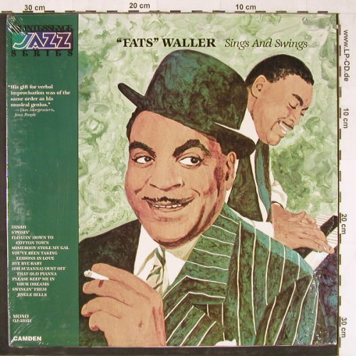 Waller,Fats: Sings And Swings, Mono, Camden(QJ-25121), CDN, 1978 - LP - E2071 - 5,00 Euro