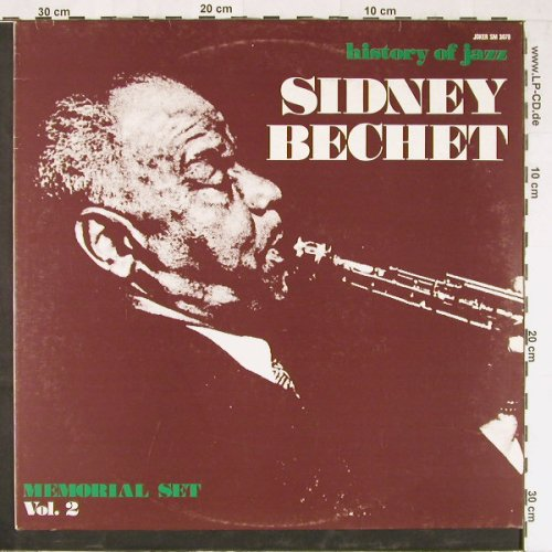 Bechet,Sidney: Memorial Set, Vol.2, Ri, Joker(SM 3079), I, 1971 - LP - E2360 - 5,00 Euro